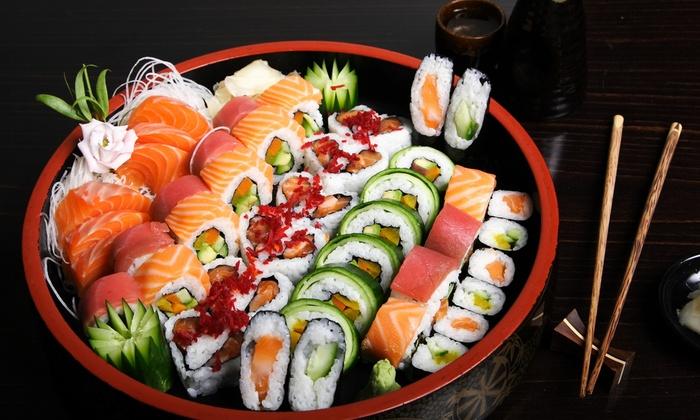 Wat te eten in een sushi restaurant?