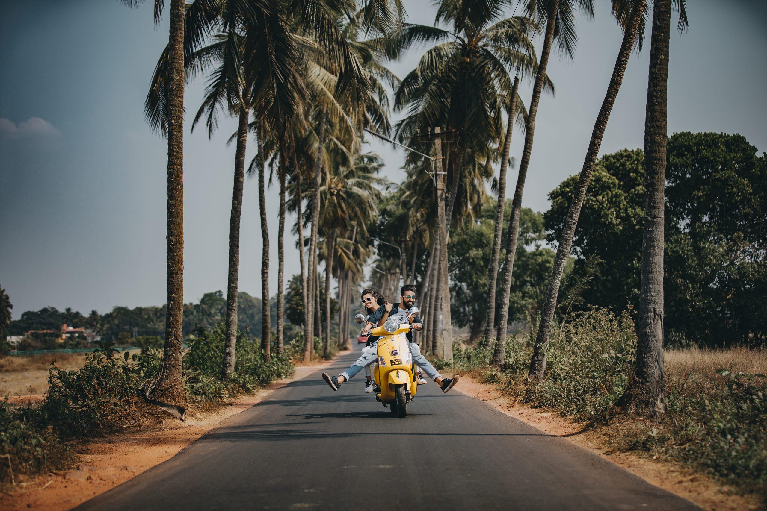 Roadtrip, maar op de scooter!