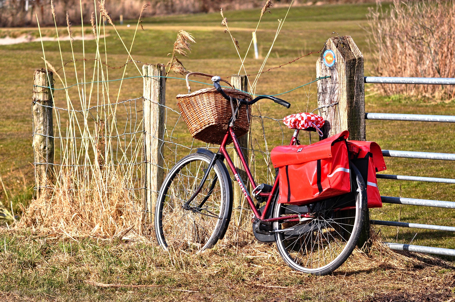 Speciale fietstas voor de elektrische fiets